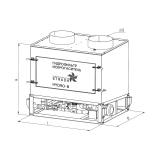 Гидрофильтр-искрогаситель STRADA HYDRO B схема