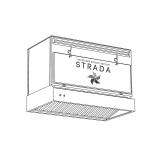 Вытяжной зонт рециркулятор STRADA схема