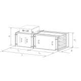 Газоконвектор STRADA STANDART схема