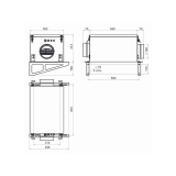 Схема Приточной установки КЭВ-ПВУ105A