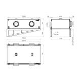 Схема приточной установки КЭВ-ПВУ205E
