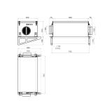 Схема приточной установки КЭВ-ПВУ65E
