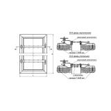 Дверь герметичная схема