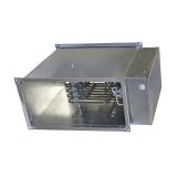 Прямоугольный электрический канальный нагреватель 1000x500